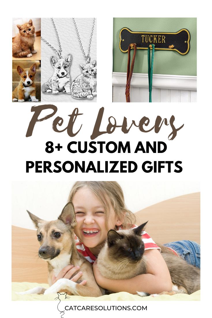 8 Custom and Personalized Pet Gifts For Every Pet Parent
